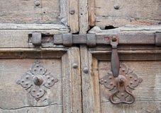 Antique door latch. Stock Photo