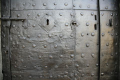 Antique door Lucca Royalty Free Stock Photography