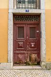 Antique door Stock Photo