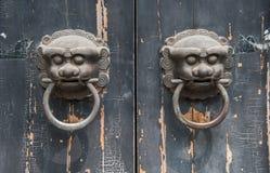 Antique door Stock Image