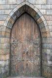 .Antique door retro style  . Stock Photos
