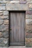 Antique door retro style  . Royalty Free Stock Photo