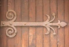 Antique door retro style processed royalty free stock image