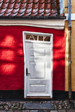 Antique door in Ribe, Denmark Royalty Free Stock Image