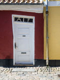 Antique door in Ribe, Denmark Royalty Free Stock Images