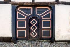 Antique door in Ribe, Denmark Royalty Free Stock Photo