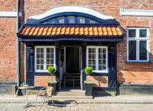 Antique door in Ribe, Denmark Royalty Free Stock Image