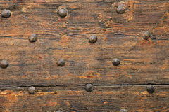Antique door. Stock Photos