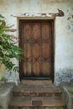 Antique door Royalty Free Stock Photo
