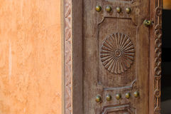 Antique door Stock Photography