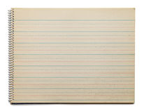 Antique Dotted Line Paper Royalty Free Stock Photo