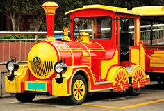 Antique dotto trains Royalty Free Stock Photo
