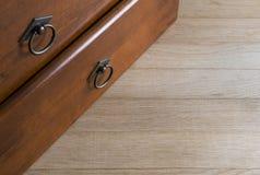 Antique drawers Stock Photo