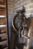 Antique Drill Press Stock Image