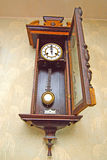 Antique drum head grandfather clock Royalty Free Stock Photos