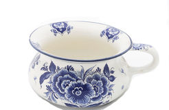 Antique Dutch China chamberpot Stock Images