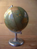 Antique Earth globe Stock Image