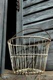 Antique Egg Basket Stock Photos