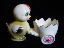 Antique Egg Cup Stock Image