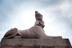 Antique Egyptian sphinx Royalty Free Stock Image