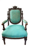 Antique elbow-chair Royalty Free Stock Photos