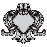 Antique emblem Stock Image