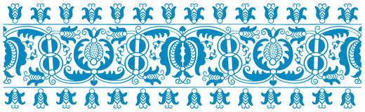 Antique embroidery pattern Royalty Free Stock Image