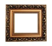 Antique empty picture frame Stock Photos