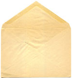 Antique envelope - open Royalty Free Stock Images