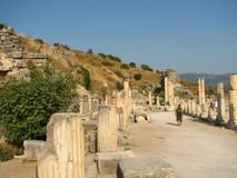 Antique Ephesus Stock Photo