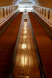 Antique escalator or moving staircase Royalty Free Stock Photography