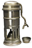 Antique Espresso Maker circa World War I. Stock Image