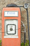 Antique Esso petrol pump. Stock Photography