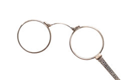 Antique eyeglasses Royalty Free Stock Photo