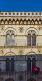Antique facade in a Pisa street. Italy. Royalty Free Stock Photo