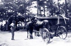 Antique family photo Stock Image