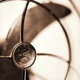 Antique fan  Royalty Free Stock Images