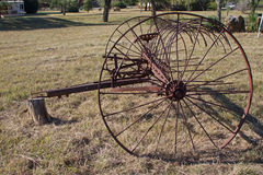Antique farm equipment Stock Photos