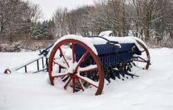 Antique Farm Machinery Stock Photo