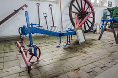 Antique Farming Equipment - shim or skerry Royalty Free Stock Photography
