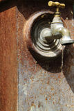 Antique faucet. Stock Images