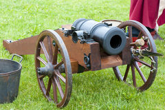 Antique field-gun Royalty Free Stock Image