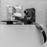 Antique film camera Stock Photography