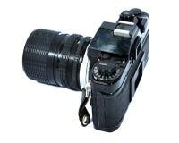Antique film camera Stock Image