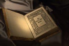 Antique Finnish Bible Stock Photo
