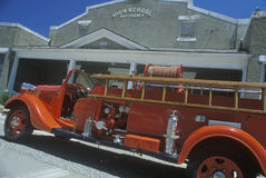Antique fire engine, Royalty Free Stock Image