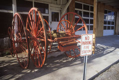 Antique fire equipment Royalty Free Stock Photos