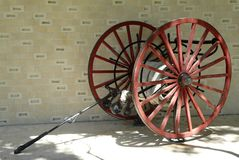 Free Antique Fire Hose Cart Firefighting Wagon Royalty Free Stock Photography - 156739597