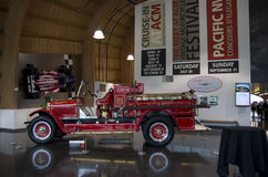Antique fire truck Royalty Free Stock Photos