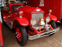 Antique firefighters truck. Several antique restored firefighters trucks Royalty Free Stock Photo